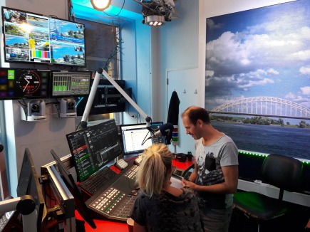 Stefanie Bouwels Radio studio